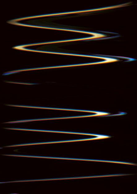 Carsten Nicolai, 'Chroma wellen form (Scan 32)', 2015