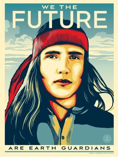 Shepard Fairey, 'We The Future Are Earth Guardians', 2018