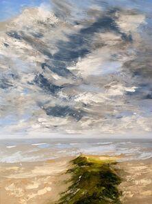 Réal Calder, 'Ile de sable no.2', 2018