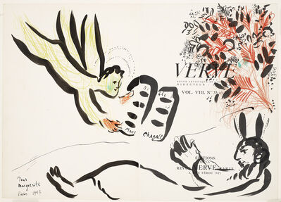 Marc Chagall, 'Verve', 1957