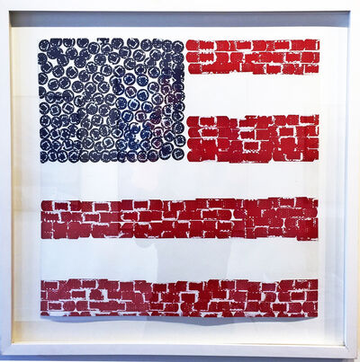 Lucy White, 'Flag', 2000