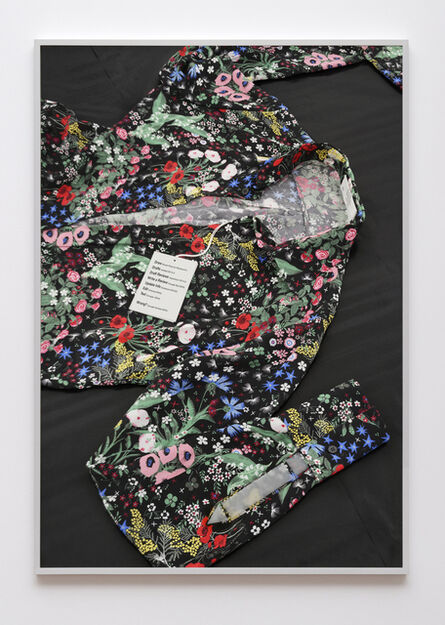Natalie Czech, 'Pen/PR Shirt (from to [icon] ) ', 2016