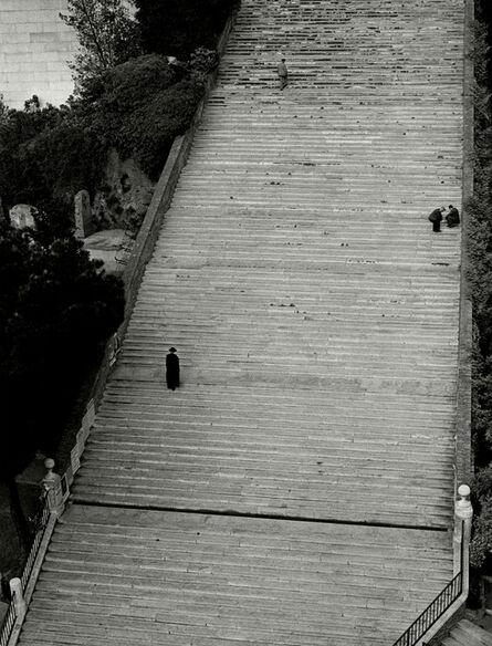 Herbert List, 'Steps to Santa Maria Aracoeli Church. Rome, Italy.'