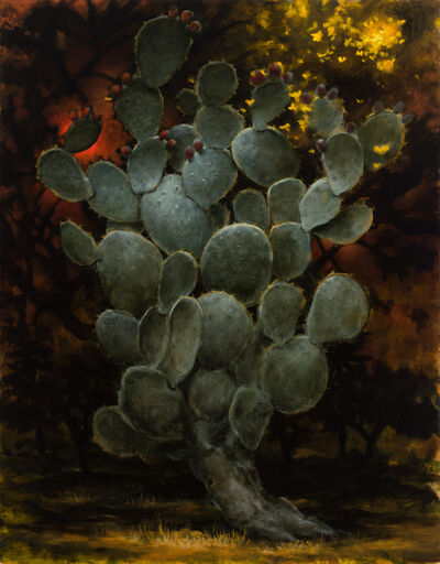 Kevin Sloan, 'St. Opuntia of the Bees', 2020