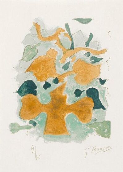 Georges Braque, 'La Forêt (The Forest) from Lettera amorosa', 1963