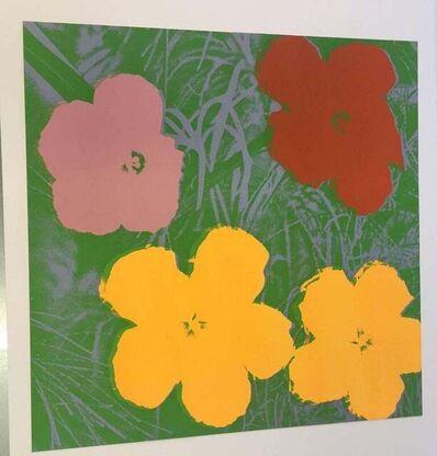 Andy Warhol, 'Flowers ', 1970