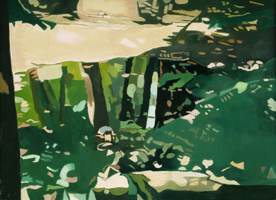 Ralph Wickiser, 'Green Reflections', 1995