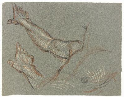 Paul Cadmus, 'Male Torso (Studies of a Hand)', 1904-1999