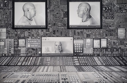 Laurie Lipton, 'Interface', 2014