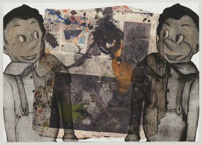 Jim Dine, 'Jim on Newsprint', 2014
