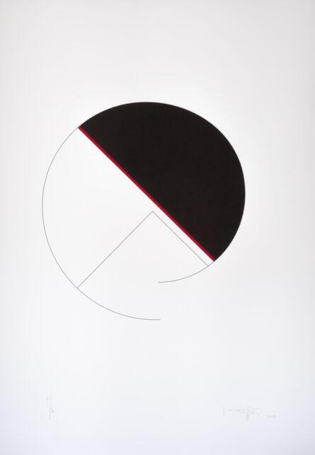 Gottfried Honegger, 'Cercle / diagonale', 2013
