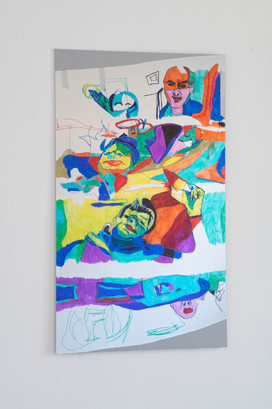 Keren Cytter, 'Self-portrait II', 2018