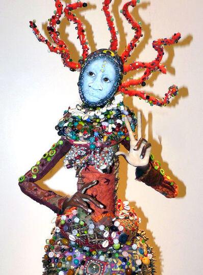 Chris Malone, 'Female with Orange Dreads', 2011