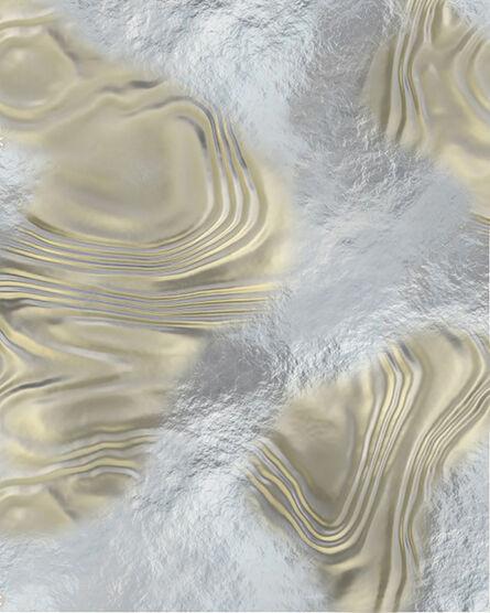 Ben Weiner, 'Abstract (Silver)', 2018
