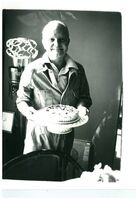"""Andy Warhol, 'Truman Capote (with the birthday cake """"he made"""")', ca. 1980"""