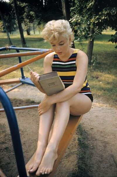 Eve Arnold, 'US actress Marilyn Monroe (Long Island, New York)', 1955