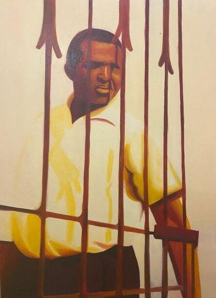 Mashudu Nevhutalu, 'Guarding the Gate', 2020
