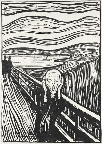 Edvard Munch, 'The Scream', 1895