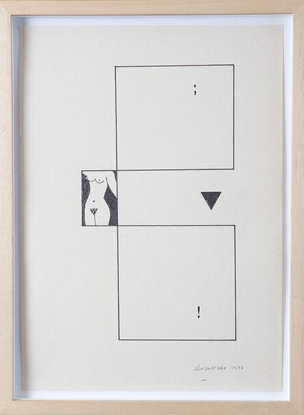 Almandrade, 'Untitled', 1977