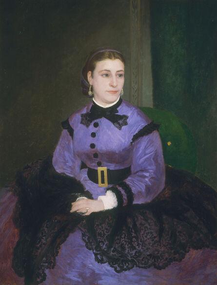 Pierre-Auguste Renoir, 'Mademoiselle Sicot', 1865