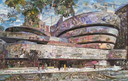 Vik Muniz, 'The Solomon R. Guggenheim Museum (Postcards from Nowhere)', 2015