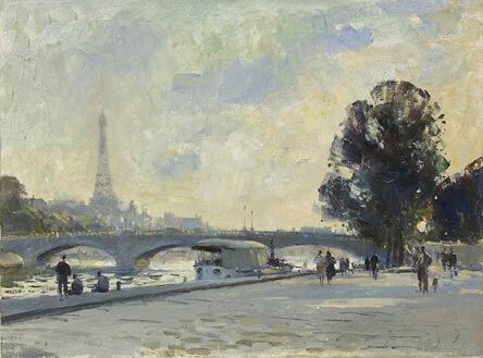 Edward Seago, 'View of the Seine, Paris'