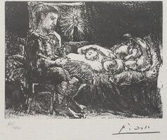 Pablo Picasso, 'Suite Vollard planche XXVI', 1973