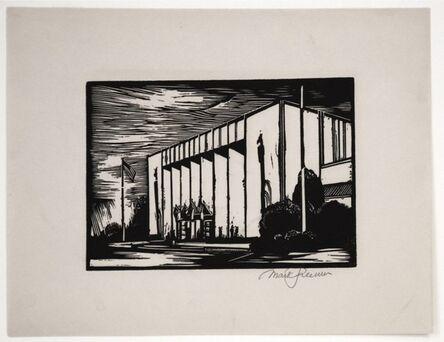 Mark Freeman, 'Chicago Worlds Fair (#4): Administration Building(Portfolio of 6)', 1933