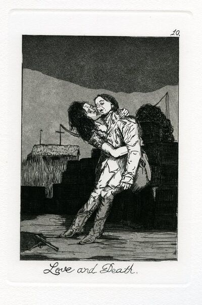 Emily Lombardo, 'Love and Death, from The Caprichos', 2014