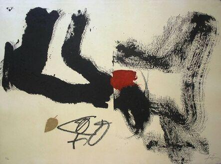 Antoni Tàpies, 'Fulla', 1987