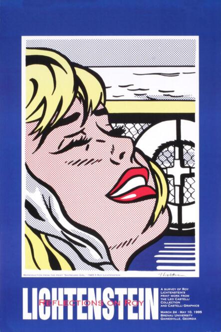 Roy Lichtenstein, 'Shipboard Girl', 1995