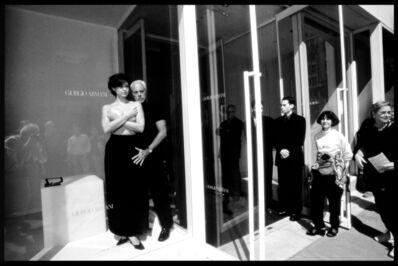 Harry Benson, 'Armani with Ashley Judd, NYC', 1996