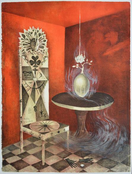 "Leonora Carrington, '""La Silla Daghda Tuatha Dé Dannaan""', 2011"