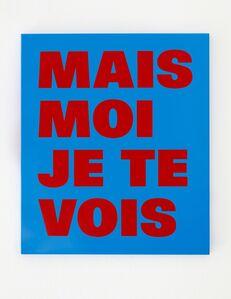 Remy Zaugg, 'De la cécité, No 31'