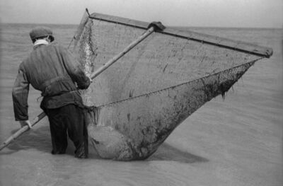 Fred Stein, 'Fisherman with Net', 1935