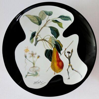 Salvador Dalí, 'The Pear Don Quixote - porcelain plate', 1910-1989