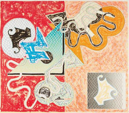 Frank Stella, 'Shards IV, from Shards', 1982