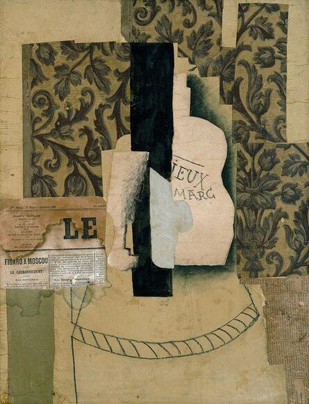 Pablo Picasso, 'Nature morte, bouteille et verre', 1913