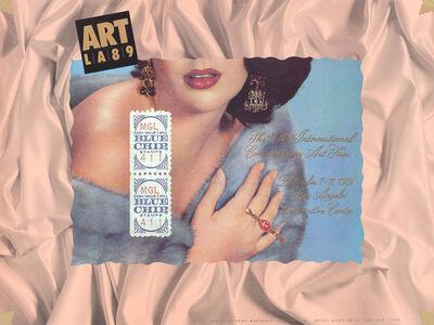 Alexis Smith, 'Blue Chip', 1989