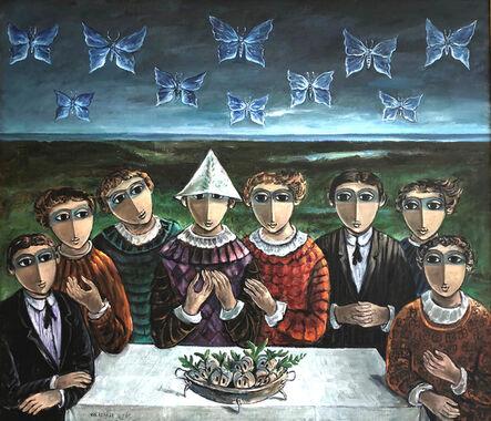 Yosl Bergner, 'Illusions ', 1974