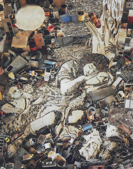 Vik Muniz, 'Diana and Endymion (Detail) after Franceso Mola (from Pictures of Junk)', 2007
