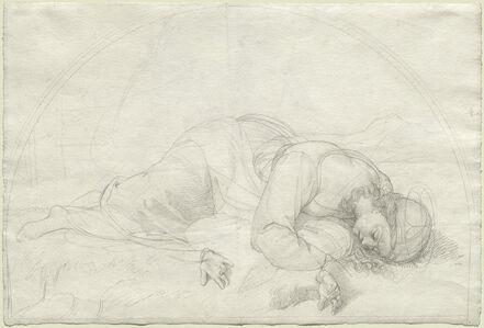 Johann Evangelist Scheffer von Leonhardshoff, 'Saint Cecilia', 1821
