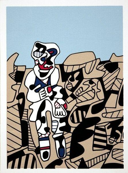 Jean Dubuffet, 'Simulacres, SET OF 10', 1974