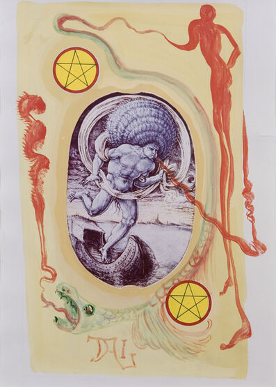 Salvador Dalí, 'Two of Pentacles', 1984