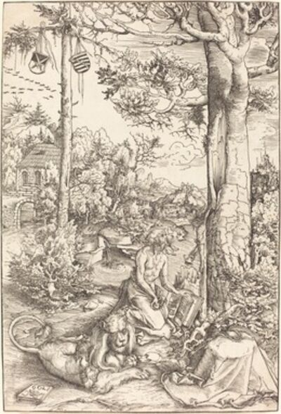 Lucas Cranach the Elder, 'The Penitence of Saint Jerome', 1509