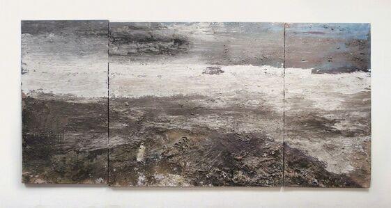 Andrew Hardwick, 'White Sea, Estuary, Wind and Cows '
