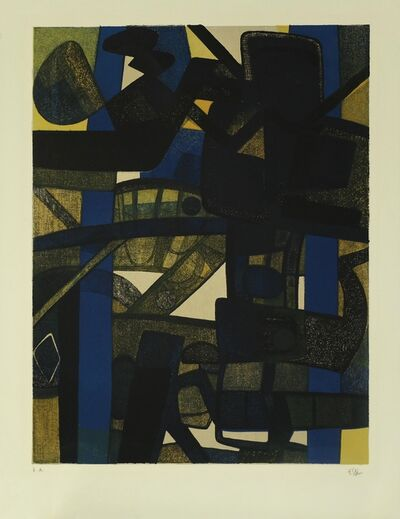 Maurice Estève, 'Maraboulda', 1972