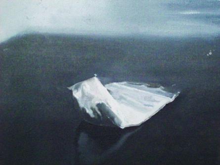 MARTIN GALLE, 'Snowmountain', 2008