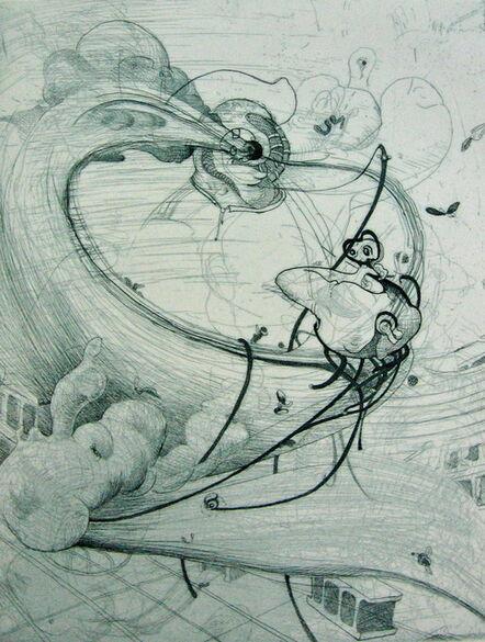Inka Essenhigh, 'Tornado', 2001