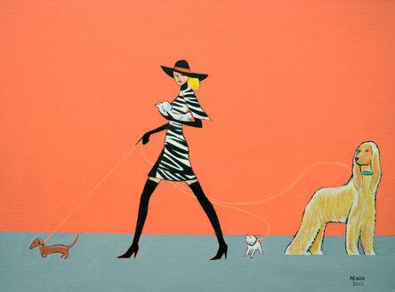 George Penon Cassallo, 'On the Avenue', 2015